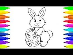 coloring pages easter bunny coloring book kids