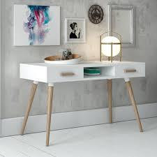 Modern White Desk by