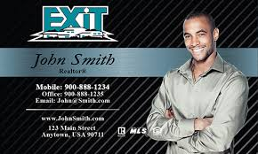 Realtor Business Card Template Exit Realty Business Cards Templates Printifycards