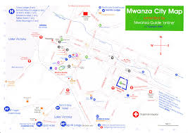 Map Of Tanzania Impressum