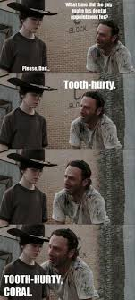 Rick And Carl Meme - 31 of the best dad jokes told by walking dead s rick grimes thechive
