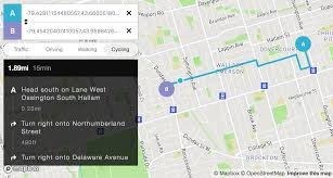 Google Maps Api Blank Map by Overview Mapbox