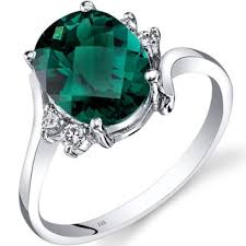 emerald gemstone rings images Buy gemstone rings online at our best rings deals jpg
