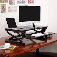 Standing Desk For Laptop by Flexispot Standing Desk Converter 35