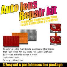 car accessories diy car light lens repair kit set car headlights