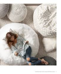 love the faux fur bean bag chair and pillow meadowbrook