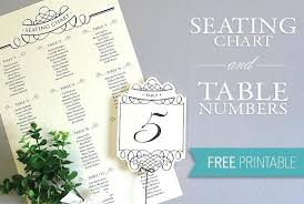 round table number of seats table number template word noshot info