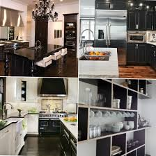 Black Kitchen Design Ideas Fascinating 80 Black Kitchen Interior Decorating Design Of Best