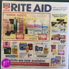 rite aid ad scan 8 27 u2013 9 2 how to shop for free with kathy spencer