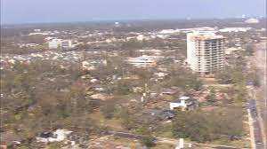 hurricane katrina homes two destroyed high rise structures near