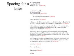 business letter format spacing guidelines parts of a business letters ppt