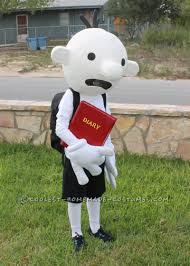 childrens halloween cartoons coolest homemade costume idea diary of a wimpy kid costume