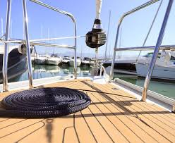 boat decking teak panel solid teak boat dock decking material