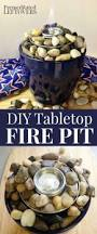 Tabletop Firepit by Easy Diy Tabletop Fire Pit Tutorial Using A Planter