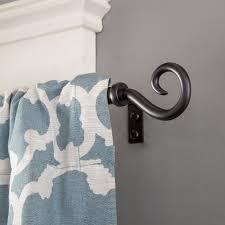 kenney medieval hook window curtain rod 1 2