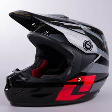one industries motocross gear one industries youth atom twisted helmet black u0026 red now 52