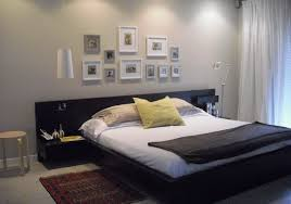 diy king size headboard bedroom clean and contemporary sleeping space with floating bed