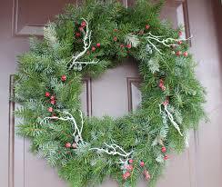 fresh christmas wreaths diy fresh christmas wreaths the ramblings of an aspiring small