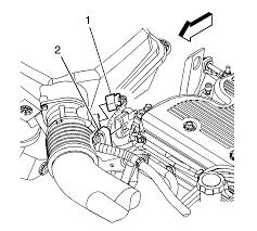 repair instructions mass airflow sensor with intake air