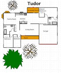 tudor mansion floor plans tudor house style a free macdraft floor plan for the mac