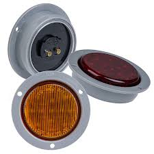 led truck and trailer lights 2 1 2 led side clearance