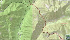 Bear Creek Trail Map Directions