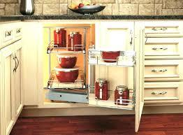 Kitchen Corner Cabinet Storage Corner Kitchen Cabinet Storage Solutions Design Sinulog Us