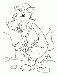 wolf coloring sheets coloring