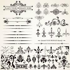 ornaments elements vector border graphic 04 vector frames