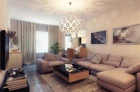 how to decorate large living room beige living room with checkered