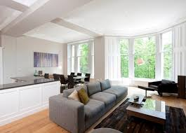 Living Room L Shaped Living Room And Dining Set Up Idea Small Room L