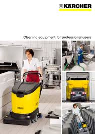 cleaning equipment for professional users karcher pdf