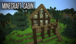 Small Cabins How To Make A Small Cabin In Minecraft Youtube