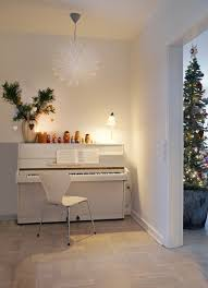 Danish House With Christmas Decorations For Winter  Home - Danish home design
