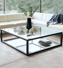 Glass And Metal Coffee Tables Glass Steel Coffee Table New Contemporary Oval Glass And Stainless