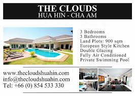 3 Bedroom 3 Bathroom Homes For Sale The Clouds Hua Hin House For Sale Cha Am Our Awards
