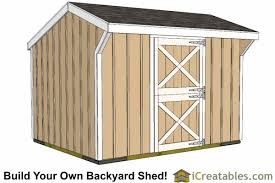 How To Build A Small Storage Shed by 10x12 Shed Plans Building Your Own Storage Shed Icreatables