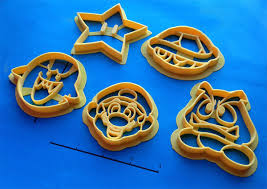 custom 3d printed cookie cutters give awesomely custom cookies