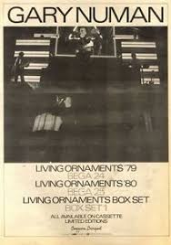 25 4 81pn18 poster advert 15x11 gary numan living ornaments ebay