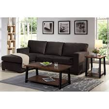 reversible sectional sofas better homes and gardens oxford square reversible sectional java