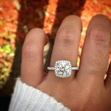 engagement rings square images Diamond ring square engagement ring square cut pinster jpg