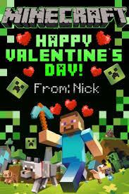 minecraft valentines techno reviews minecraft cards minecraft card ebay
