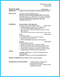 Resume Samples Pdf by One Of Recommended Banking Resume Examples To Learn