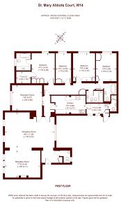 5 Bedroom Apartment Floor Plans 5 Bedroom St Mary Abbots Court Warwick Gardens London W14