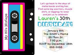 birthday invitation card diy tags birthday invitation card 30th