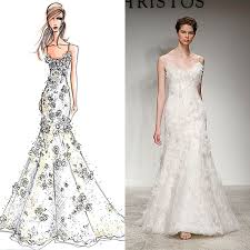 design a wedding dress designer wedding gowns from sketch to dress bridal dresses