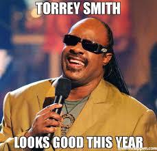 Meme Smith - torrey smith looks good this year meme stevie wonder 33759