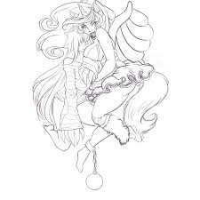 happy halloween lineart free to color by purpletenshi on deviantart