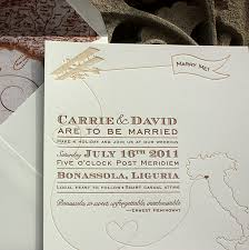 destination wedding invitation vintage inspired invitations for a destination wedding in italy