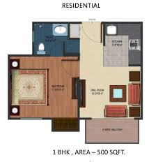 Fresh 500 Square Feet Apartment Floor Plan Home Design Very Nice